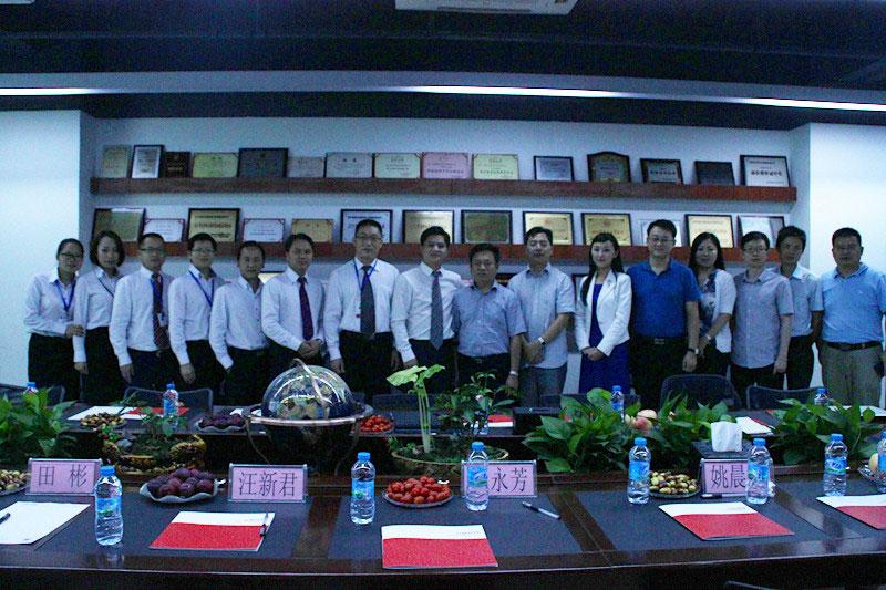 2014年8月杭州政府领导指导工作