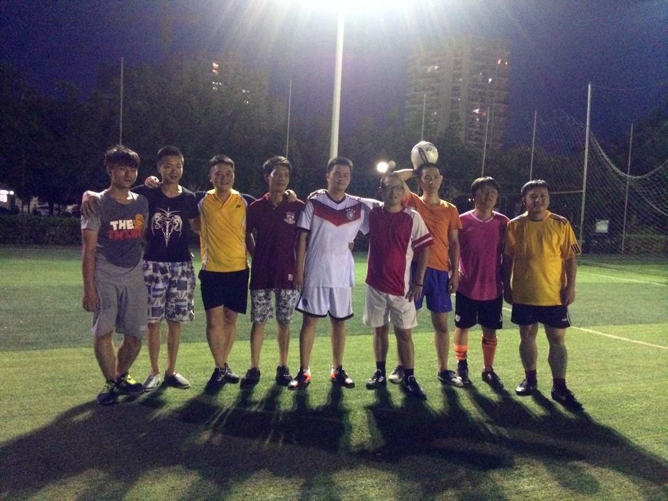 2014年员工业余足球赛