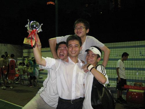 互联在线荣获深圳互联网企业第二届篮球赛冠军1