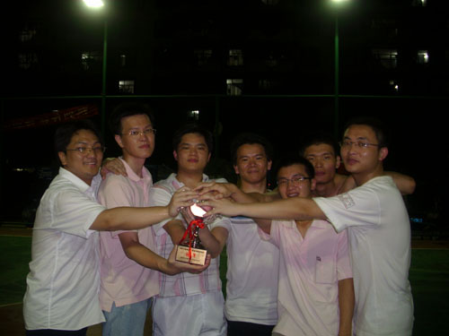 互联在线荣获深圳互联网企业第二届篮球赛冠军