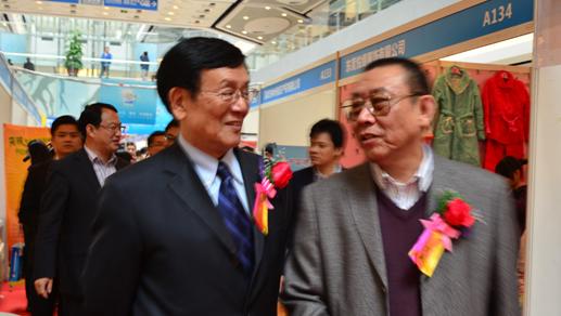 中国互联网协会领导,龙岗区政府领导,科技局领导