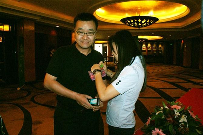 中国电信工程公司黄伟江签到